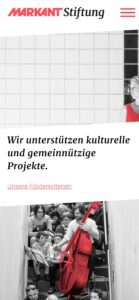 webdesign-markant-stiftung-smartphone