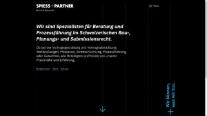webdesign-spiess+partner-desktop